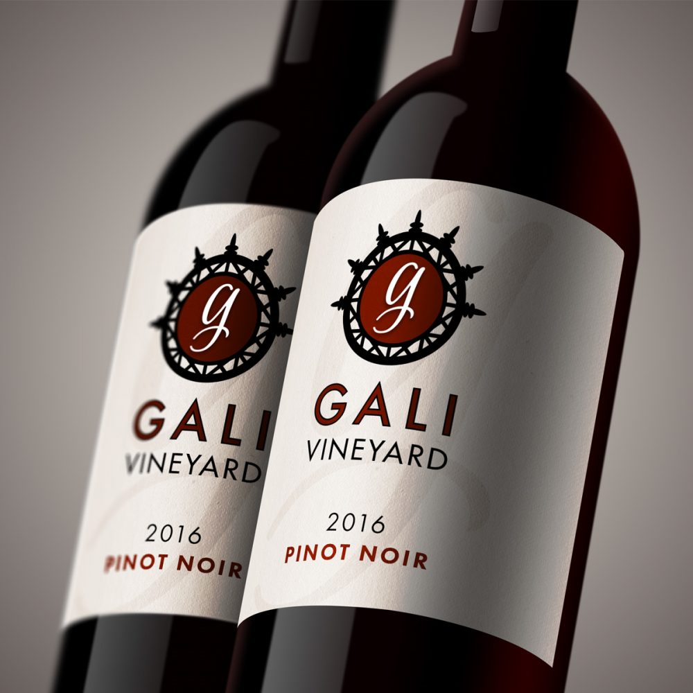 Wine Label Logo and Label Concepts